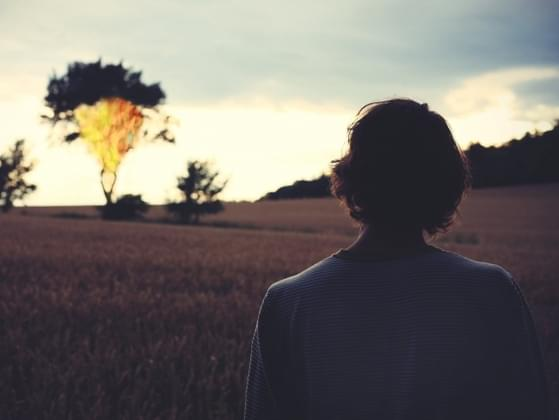 How do you feel when you're completely alone?