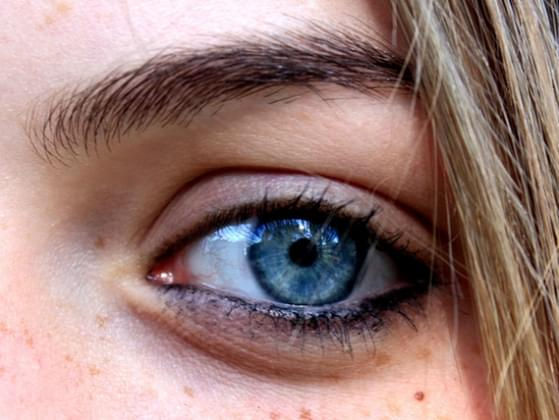 The color of your eyes?