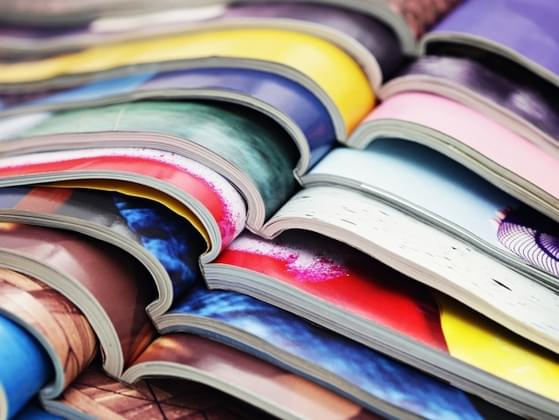 Which magazine would you choose at the checkout stand?