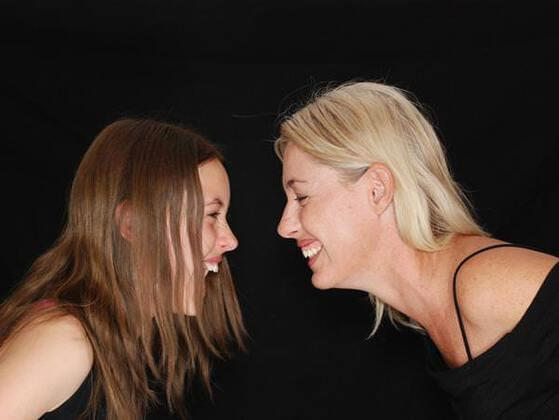 One mother treats her little daughter like an adult, while another doesn't expect much of her due to her young age. Which one has the better approach?