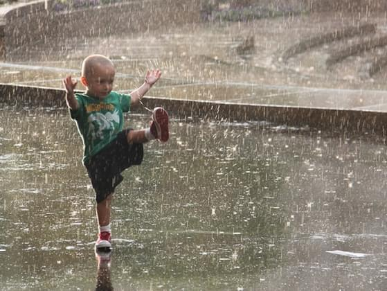 What is your favorite rainy day activity?
