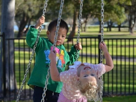 It's time for recess at school. Would you rather play inside or outside?