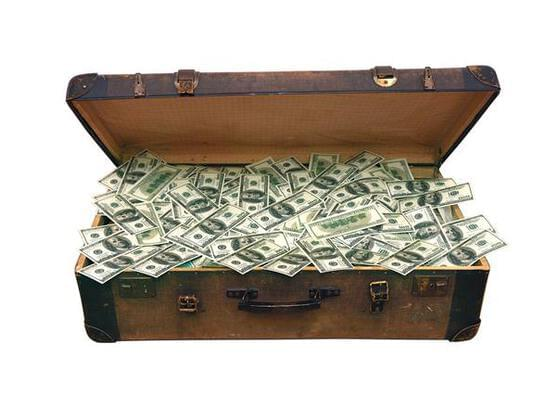 You have found a briefcase full of money on the street. What do you do with it?