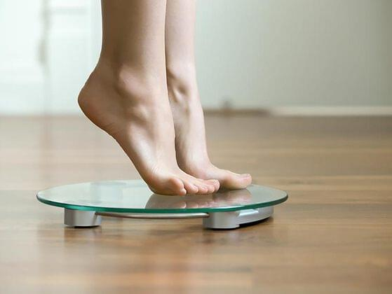 Did you lose weight?