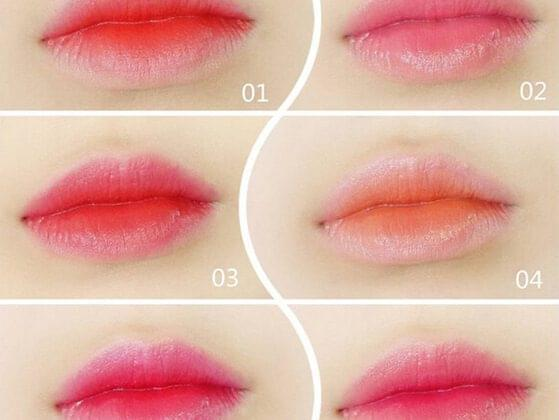 Double shade lipsticks?