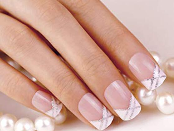 Had a french manicure?