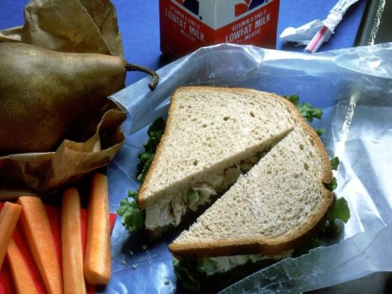Did your Mom pack you a lunch for school?