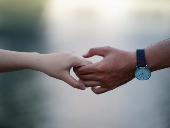 Who was the last person to hold your hand?