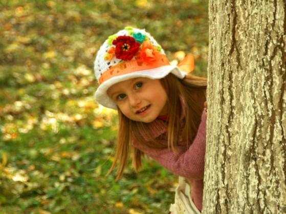 When you played hide and seek as a child, how quickly were you found?