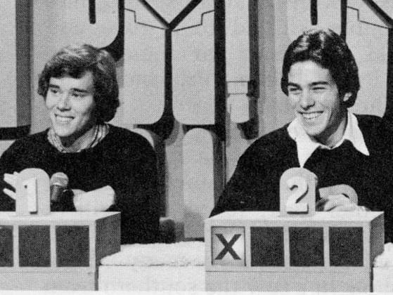 Which TV game show features celebrity contestants that get to ask questions of three people to tell which one is who he or she really says he or she is?