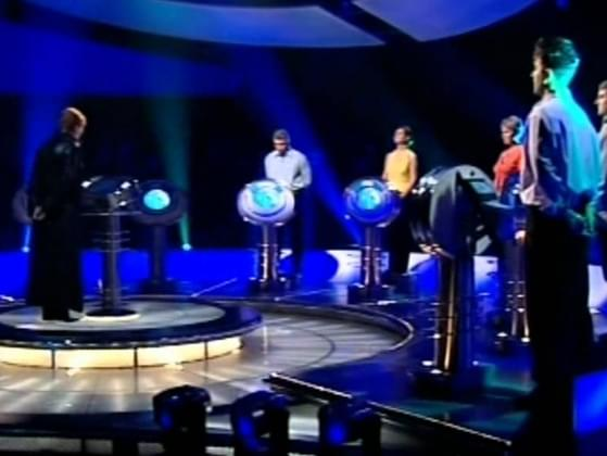 Which TV game show was originally a UK game show hosted by a stern, and sometimes scary, Anne Robinson?