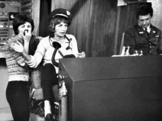 Leonard Ksnowski, Andrew Squiggman, Frank De Fazio, Carmine Ragusa. Name that 1970's show!