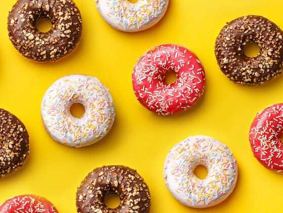 Doughnuts are round and you love them. Name one more round food that attracts you.