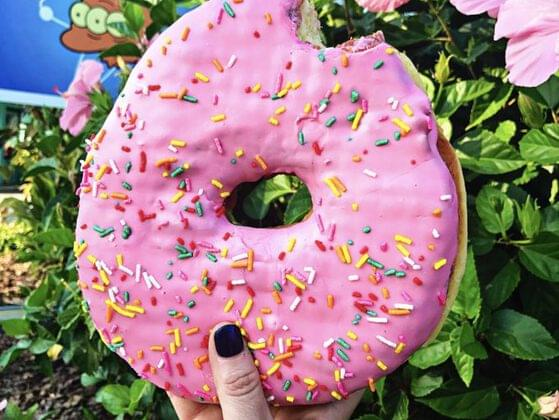 When on holidays, where would you like to eat doughnuts?