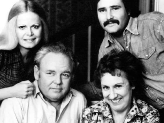What was Archie Bunker's wife's name in 'All in the Family?'