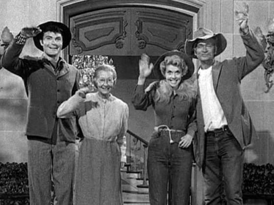 What did the 'Beverly Hillbillies' find on their property that made them millionaires?