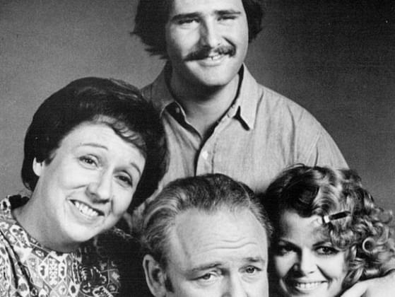 Which 1970s show follows the lives of Archie Bunker, his wife Edith, and their family?