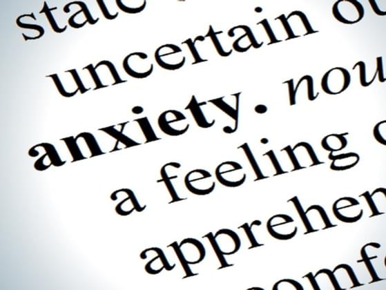 When do you feel the most anxiety?