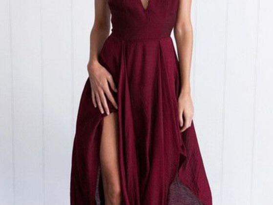 Anything with a really deep V?