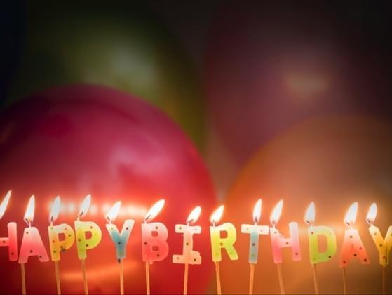To you, celebrating birthdays is
