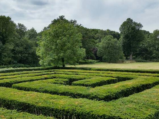Who designed and built the Labyrinth?