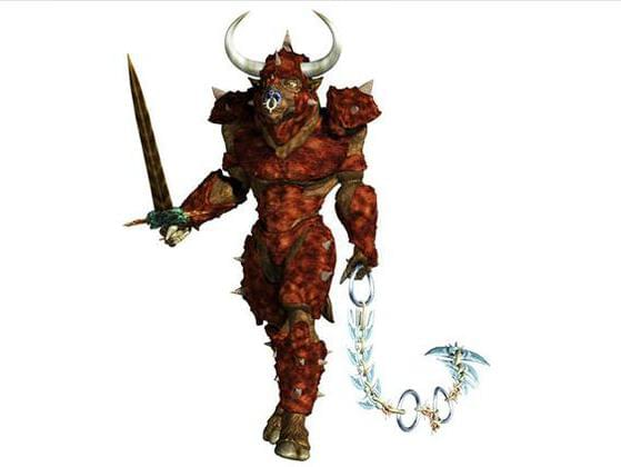 Which hero is said to have killed Minos' Minotaur?