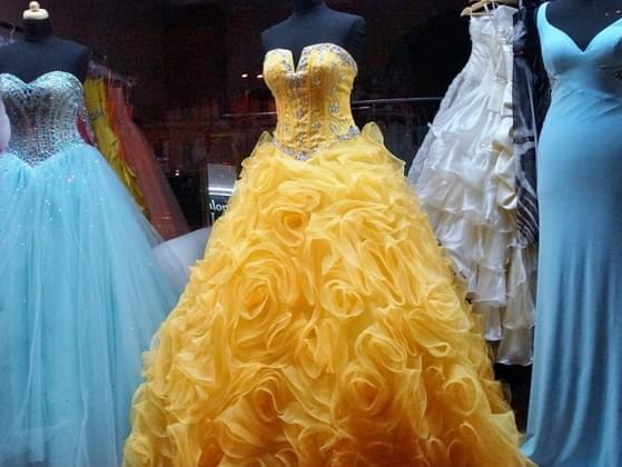 Pick a color for your dress.