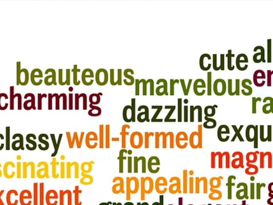 Which adjective best describes you?