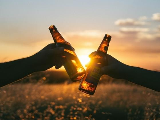 Do you like to drink alone or with friends?