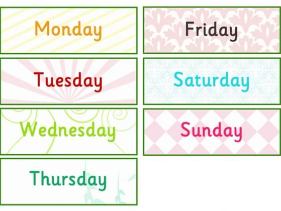 Which day of the week do you look forward to?