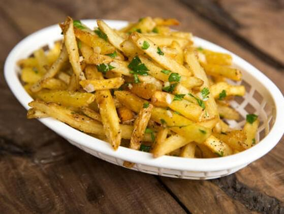 And Gilroy Garlic Fries?
