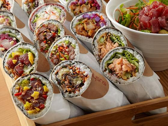 Tell us if you have eaten Sushirrito from Sushirrito?