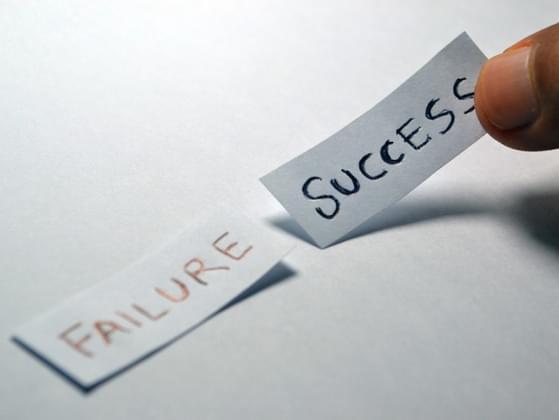 Failure is ___________.