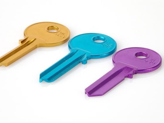 Pick a key.