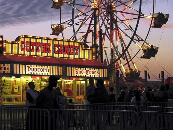 Pick your favorite county fair food.