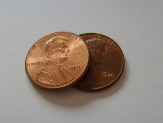 A penny is on the ground. Do you pick it up?