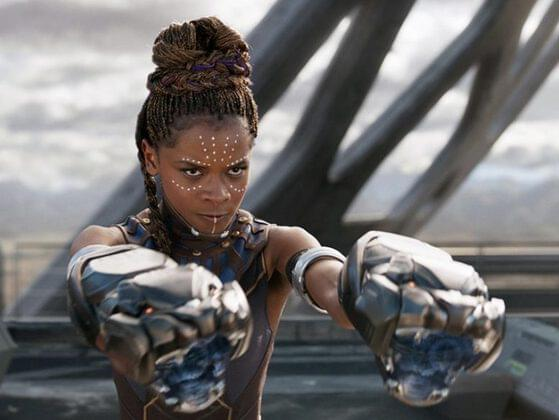 The female warriors in the movie are named as...