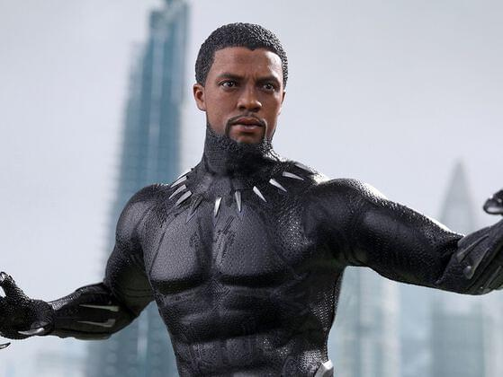What was the shape of the herb that T'challa used to consume to regain powers?