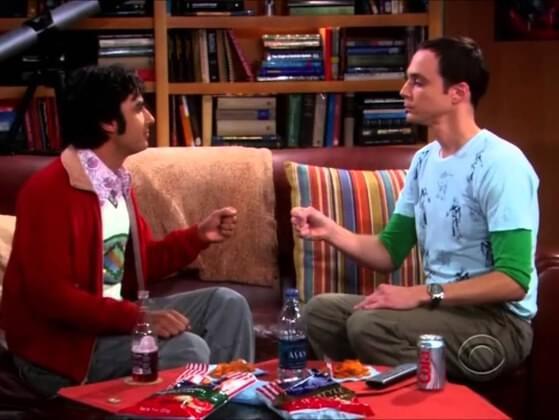 Rock, Paper, Scissor,....? Fill the gap Sheldon's way.