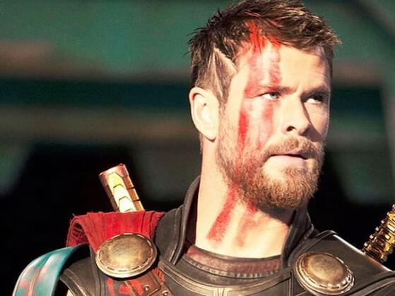 What was the debut movie of Chris Hemsworth?