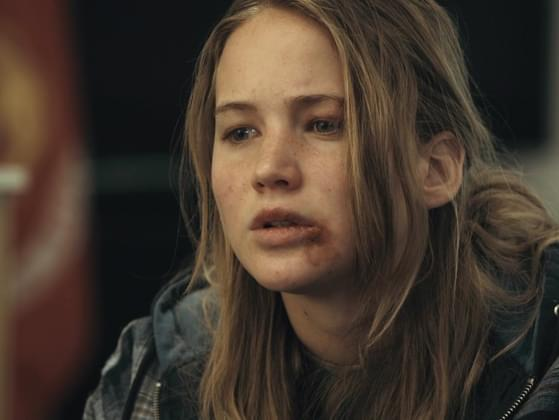 What was the movie Jennifer Lawrence first appeared into?