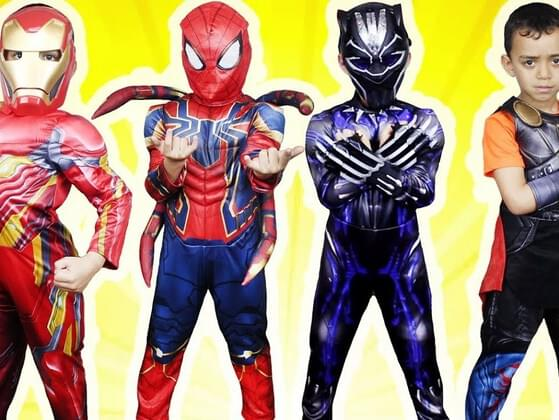 Which color would you want your superhero suit to be?
