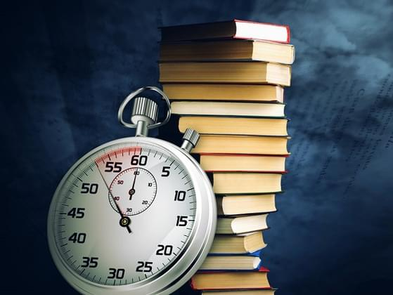 What is the shortest time you have taken in finishing a 400-page book?