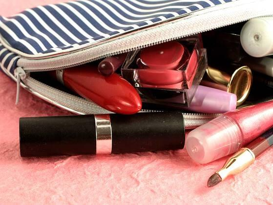 Pick a makeup product which you do not carry in your bag.