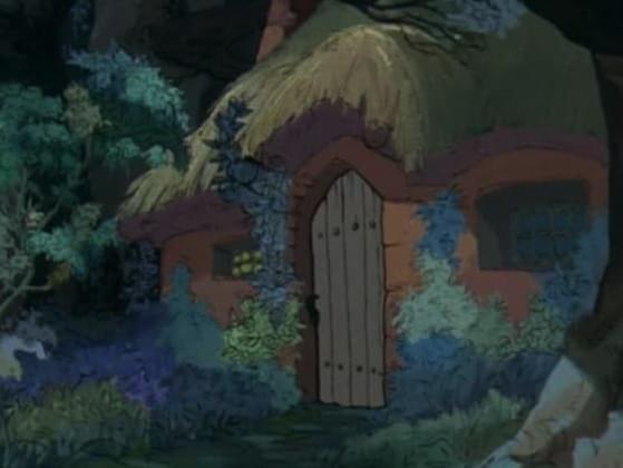 Name the Disney Movie that showcased this house?