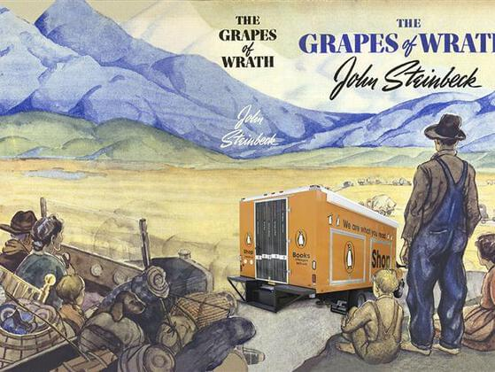 Who wrote 'The Grapes of Wrath'?