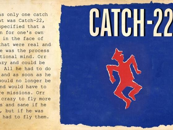 Who wrote the book 'Catch-22'?