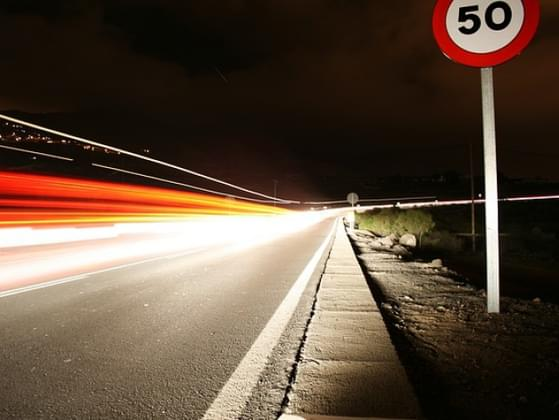 What speed limit do you drive most times?
