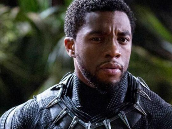 Who is the other superhero, who first appeared in Captain America: The First Avenger, who appears in the post-credits sequence of Black Panther?