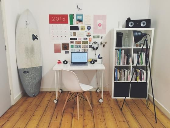 How organized is your desk at home or work?